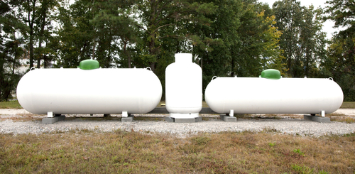which size propane tank